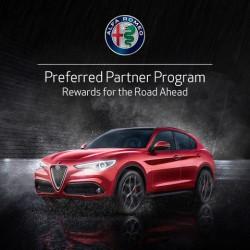 Alfa Romeo Preferred Partner Program - Enjoy exclusive offers on the Alfa Romeo range
