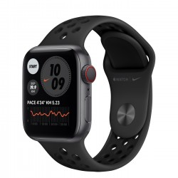 Apple Watch Nike Series 6 GPS + Cellular, 40mm Space Gray Aluminium Case with Anthracite/Black Nike Sport Band