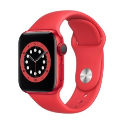 Apple Watch Series 6 GPS + Cellular, 40mm PRODUCT(RED) Aluminium Case with PRODUCT(RED) Sport Band