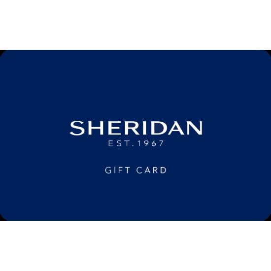 Sheridan Instant Gift Card - $50