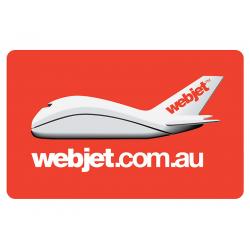Webjet Instant Gift Card - $250