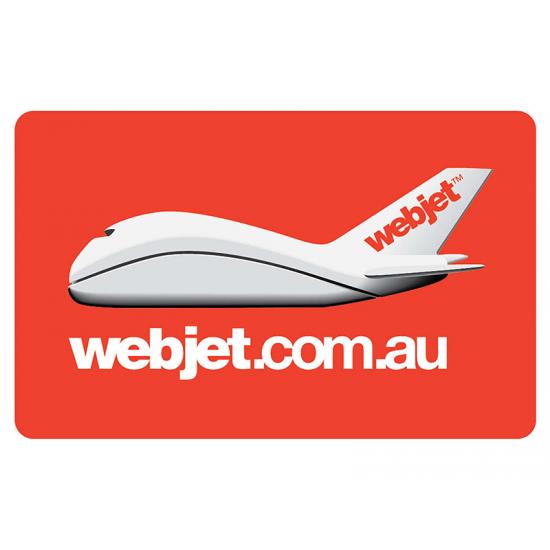 Webjet Instant Gift Card - $100