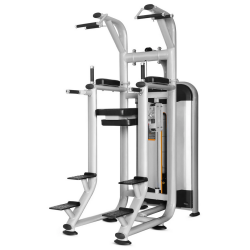 Lifespan Fitness OMEGA Series CUKR-10 Assisted Chin Up Tower with Knee Raise and Dip