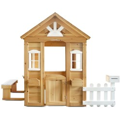 Lifespan Kids Teddy Cubby House in Natural Timber (V2)