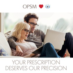 OPSM - 10% off a complete pair of Prescription Glasses, Sunglasses or Contact Lenses, plus 50% off a second pair