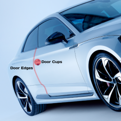 Permagard Exosphere Paint Protection Film: Door Cups & Door Edges (2 Doors)