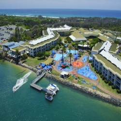 School Holidays @ Sea World Resort & Water Park - Ultimate Family Getaway with Unlimited Entry to 4 Theme Parks! Just a short walk from Surfers Paradise and Marina Mirage featuring spacious rooms and family-friendly facilities.