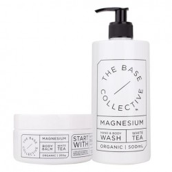 The Base Collective Magnesium & White Tea Duo